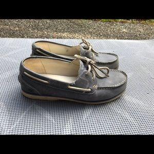 Timberland blue shoe